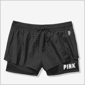 VS PINK 2-IN-1 SPORT SHORTS
